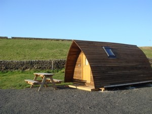 Herding Hill Farm, Haltwhistle: Campsite