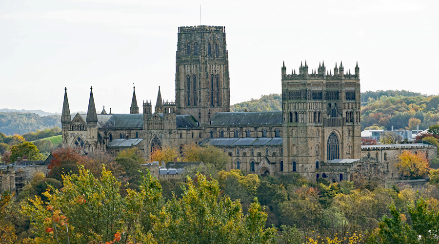 Durham Cathedral viewed from Wharton Park