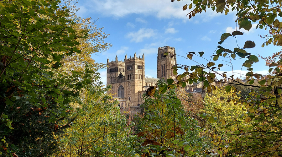 Durham Cathedral viewed from the River Wear