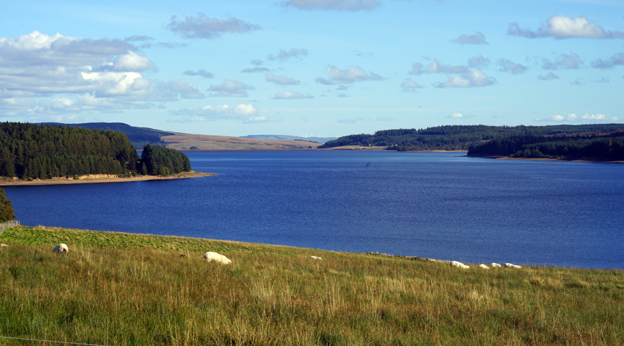 Kielder Lake in England
