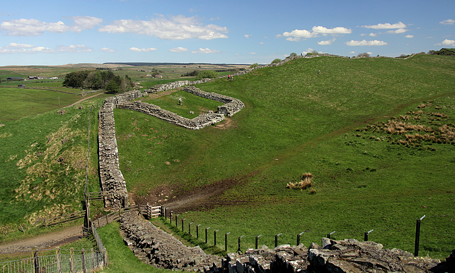 Milecastle 42 at Cawfields