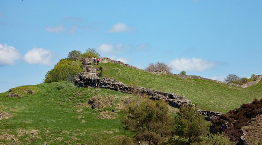 Walking through history on Hadrian's Wall