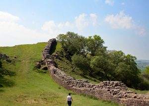Hadrian's wall magnificent scenery